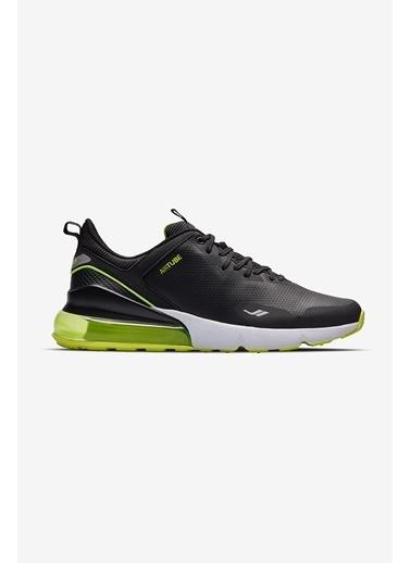 Lescon Airtube Leonis Siyah Erkek Spor Ayakkabı Siyah